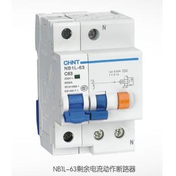 NB1L-63剩余电流